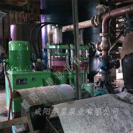 华星柱塞泵在矿山行业替换离心泵