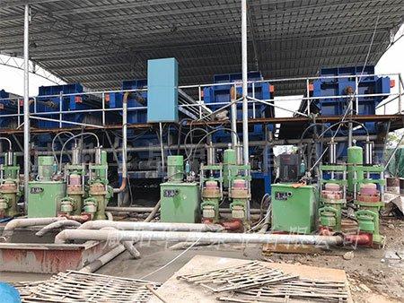 华星YB250-30液压柱塞泥浆泵在打桩污泥领域的使用情况