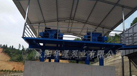 华星YB250-30柱塞泥浆泵在洗沙污水领域的使用