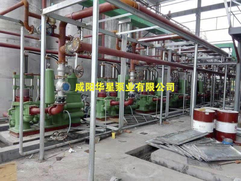 柱塞泥浆泵生活污水处理客户使用现场