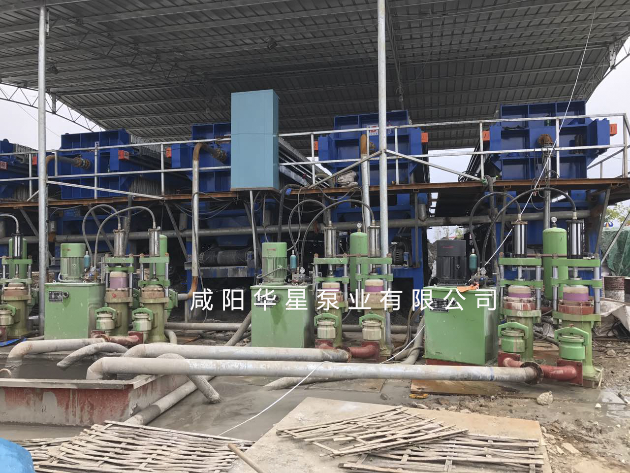 柱塞泥浆泵打桩污泥客户案例